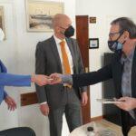 Embajador de Países Bajos se reunió con autoridades del Puerto de Ushuaia
