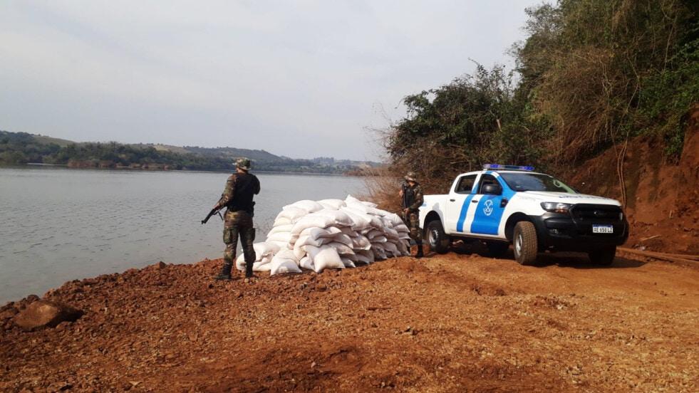 Prefectura secuestró más de 10 toneladas de granos