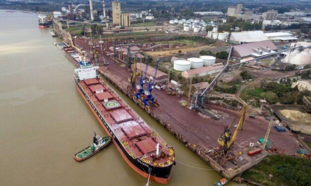 Puerto San Nicolás avanza en la reconstrucción del muelle sur