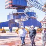 AGP firmó convenio con puerto San Nicolás por la reconstrucción del muelle