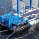 Un  velero ecológico que limpia el mar y se alimenta de residuos plásticos