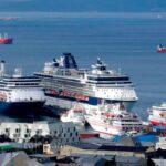 Tierra del Fuego y la Administración General de Puertos bonifican tasa de peajes a cruceros