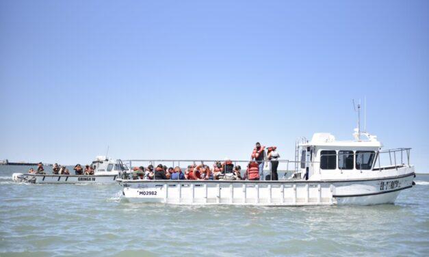 """Se presentó """"Sembrar Futuro"""" en el Puerto de Bahia Blanca"""