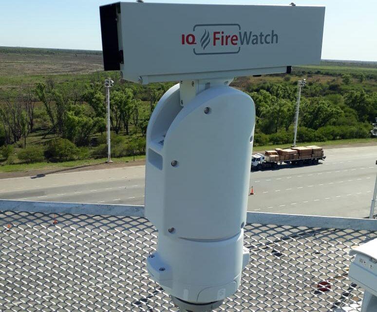 Se instalan cámaras de detección de incendios en el delta del Paraná